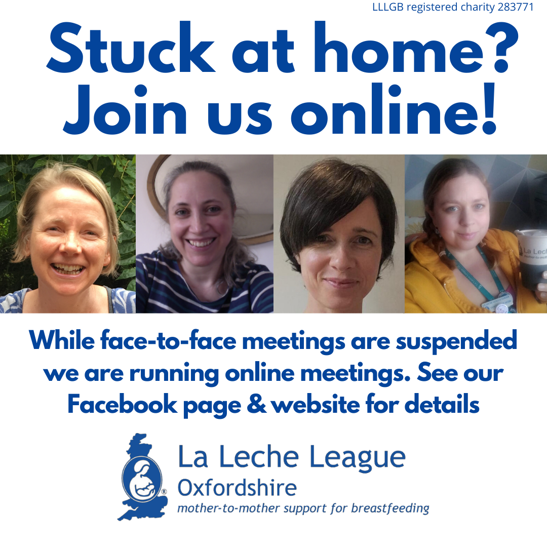 LLL Oxfordshire Online Meetings during Covid19